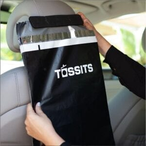 tossits car garbage bags 10 pack