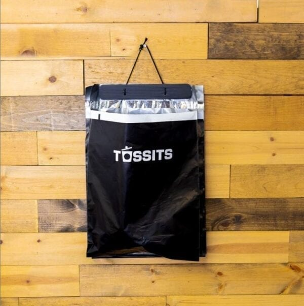 Tossits Trash Bags hang anywhere